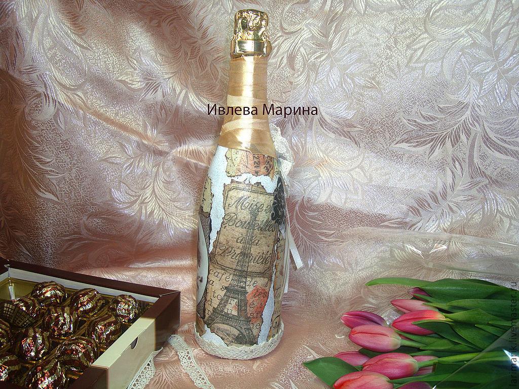 Мастер класс по бутылкам оформление