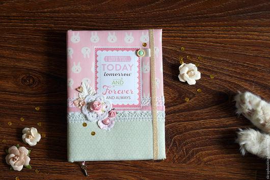 Блокнот для мамы от мастерской скрапбукинга Living History