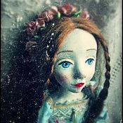 Куклы и игрушки ручной работы. Ярмарка Мастеров - ручная работа Ида и её цветы... (Резерв). Handmade.