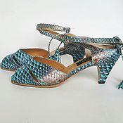 Обувь ручной работы handmade. Livemaster - original item Sandals made of genuine Python leather. Handmade.