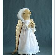Куклы и игрушки ручной работы. Ярмарка Мастеров - ручная работа Ангел - Текстильная Интерьерная игрушка. Handmade.