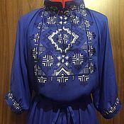 Одежда handmade. Livemaster - original item dresses: Women`s embroidered dress