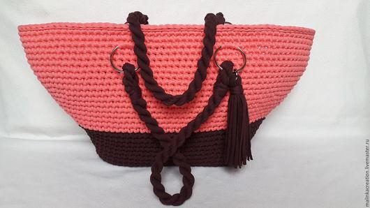 Пляжная сумка Coral Bag от Malinka_Creation