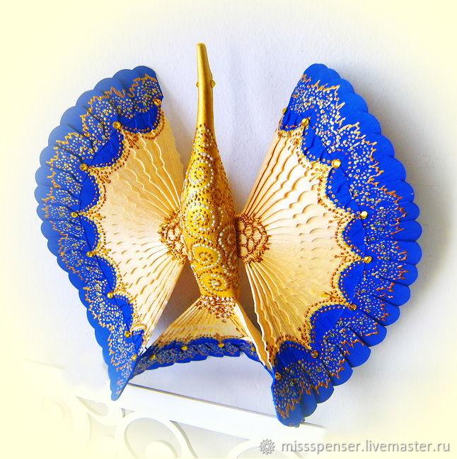 Синяя Птица счастья для молодой семьи - домашний оберег, Подарки, Москва, Фото №1