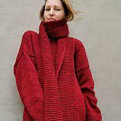 Одежда handmade. Livemaster - original item Warm knitted dress Mohair dress. Handmade.