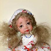 Куклы и игрушки ручной работы. Ярмарка Мастеров - ручная работа Кнопочка- Розочка. Handmade.