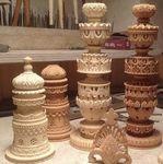 Эксклюзивные шахматы ручной работы - Ярмарка Мастеров - ручная работа, handmade