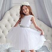 """Платья ручной работы. Ярмарка Мастеров - ручная работа Платье из фатина """"White princess"""". Handmade."""