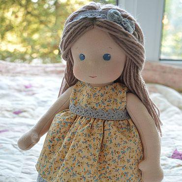 Куклы и игрушки ручной работы. Ярмарка Мастеров - ручная работа Вальдорфская кукла Цветик. Handmade.