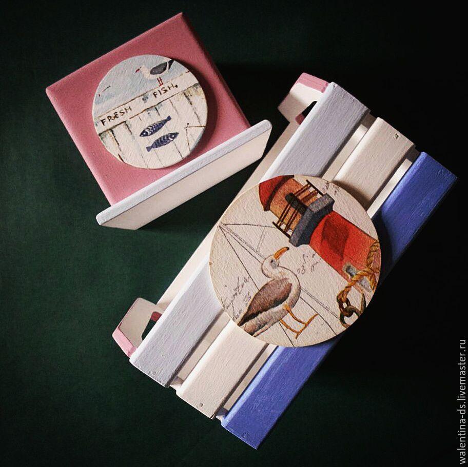 """Комплект для двоих """"Время морских круизов"""", Комплекты аксессуаров для дома, Москва,  Фото №1"""