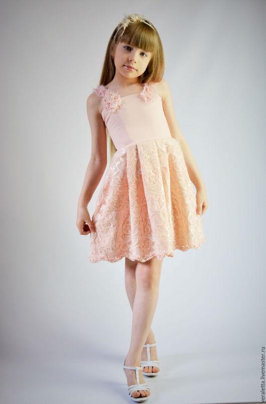 Платье `Кокетка                                                                                                  Автор Вера Григорьева