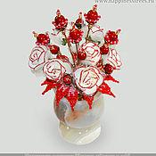 handmade. Livemaster - original item Flowers of coral