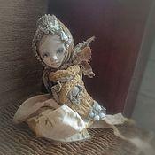 """Куклы и игрушки ручной работы. Ярмарка Мастеров - ручная работа """"Сударыня Птичка"""" тедди-долл. Handmade."""