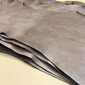 Кожа ручной работы. Ярмарка Мастеров - ручная работа Кожа: Подошвенная в воротках 3,1 - 3,5мм. бежевая. Handmade.