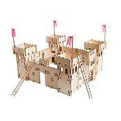 Военная миниатюра ручной работы. Ярмарка Мастеров - ручная работа Чудо-крепость + 5 комплектов игровых аксессуаров. Handmade.