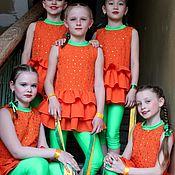 Работы для детей, ручной работы. Ярмарка Мастеров - ручная работа Сценический костюм для танца. Handmade.