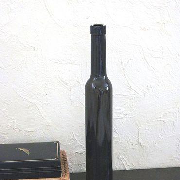 Материалы для творчества ручной работы. Ярмарка Мастеров - ручная работа Бутылки темные очень тонкие. Handmade.