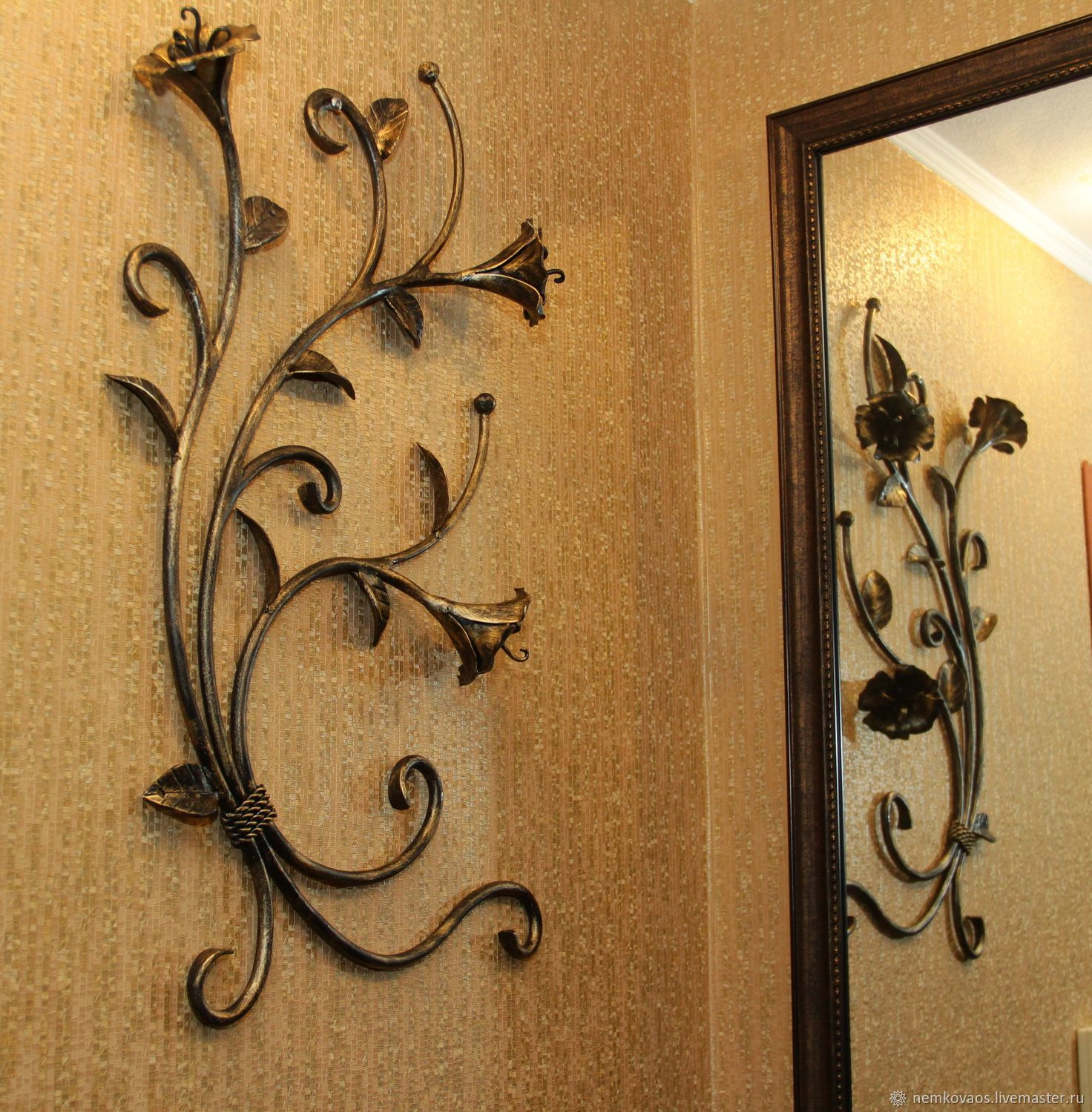 Wrought iron wall panels, Pictures, Yoshkar-Ola,  Фото №1