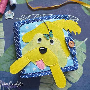 Куклы и игрушки ручной работы. Ярмарка Мастеров - ручная работа Развивающая книжка из фетра для малыша. Handmade.