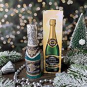 Косметика ручной работы handmade. Livemaster - original item New Year`s soap volumetric Champagne in a box. Handmade.