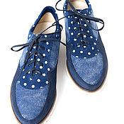 Обувь ручной работы. Ярмарка Мастеров - ручная работа Готовая пара!!!  Кроссовки Marita. Handmade.