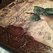 Картины ручной работы. Ярмарка Мастеров - ручная работа Панно интерьерное Фрукты в карамели. Handmade.