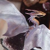Куклы и игрушки ручной работы. Ярмарка Мастеров - ручная работа Дракон - Сиреневый Лед. Handmade.