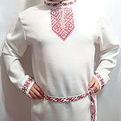 Русский стиль handmade. Livemaster - original item Russian men`s shirt