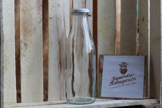 Другие виды рукоделия ручной работы. Ярмарка Мастеров - ручная работа. Купить Бутылка для сока/молока 0,5 л. Handmade.