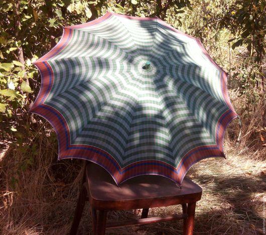 Винтажная одежда и аксессуары. Ярмарка Мастеров - ручная работа. Купить Небольшой зонтик. Винтаж.. Handmade. Комбинированный, ретро, для фотосъемки, бамбук