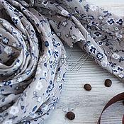 Аксессуары handmade. Livemaster - original item Stole -trapezoid made of Italian fabric with floral print. Handmade.