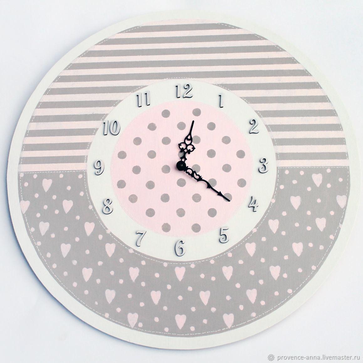 Wall clock patchwork, Watch, Saratov,  Фото №1