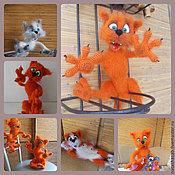 Куклы и игрушки ручной работы. Ярмарка Мастеров - ручная работа Кот для машины и дома. Handmade.
