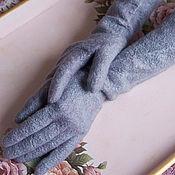 Аксессуары ручной работы. Ярмарка Мастеров - ручная работа Валяные перчатки, длинные. Handmade.