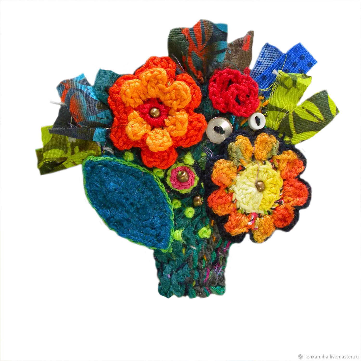Brooches handmade. Livemaster - handmade. Buy Small bouquet.Flower brooch, brooch bouquet, interior decoration, decoration for interior