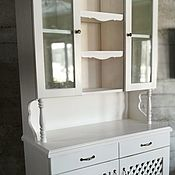 Для дома и интерьера handmade. Livemaster - original item Sideboard dresser like my grandmother from solid cedar in the style of Provence White. Handmade.