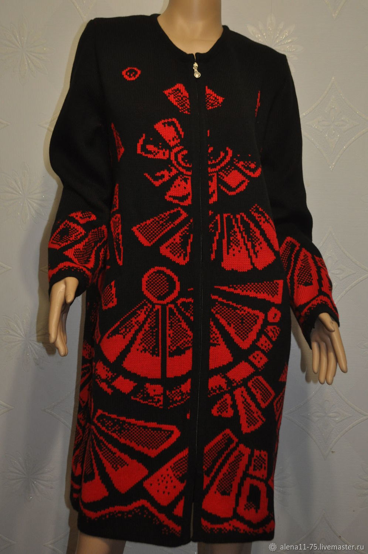 Knitted coat, Coats, Lipetsk,  Фото №1