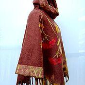 Одежда handmade. Livemaster - original item Poncho-coat :