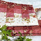 Для дома и интерьера handmade. Livemaster - original item baby blanket for girls to be discharged from the hospital, patchwork. Handmade.