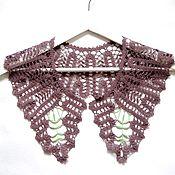 Аксессуары handmade. Livemaster - original item Lace collar crochet