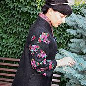 """Одежда ручной работы. Ярмарка Мастеров - ручная работа пальто  """"Гуцулочка"""" - авторский войлок. Handmade."""
