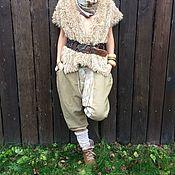 Одежда ручной работы. Ярмарка Мастеров - ручная работа Жилет меховой двусторонний. Handmade.
