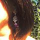 Серьги ручной работы. Cерьги c аметистом. Мельникова Лариса (Mellara). Ярмарка Мастеров. Аметист