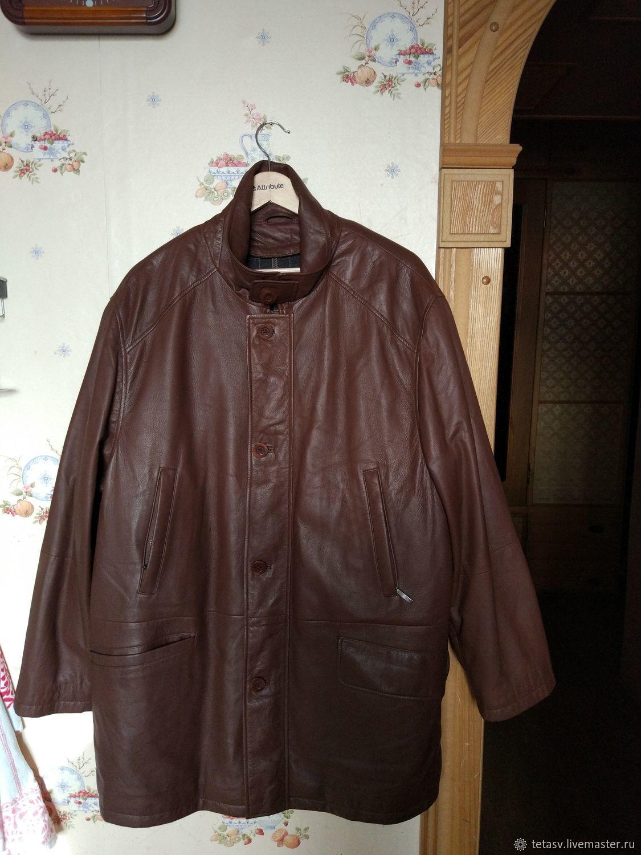 Винтаж: Куртка из нат.кожи мужская Премиум!   Walbusch Берлин, Одежда винтажная, Гатчина,  Фото №1