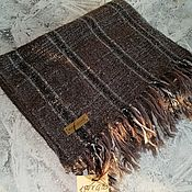 Аксессуары handmade. Livemaster - original item Scarves: Hand woven scarf Merino cashmere. Handmade.