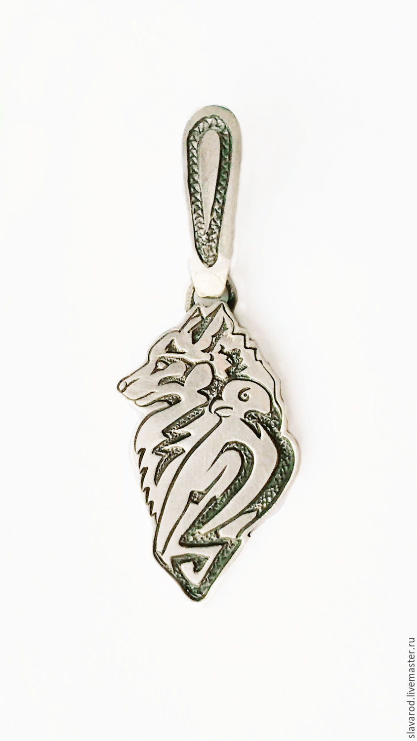 The wolf bares his teeth and growls when she feels threatened. But the wolf never attacks without the need. He takes care for his family... the Wolf chooses the path among the Woods, guided by all you