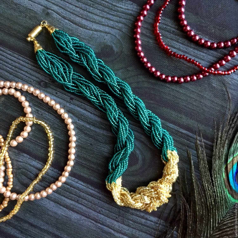 Иркутск куплю ожерелье из бисера ручной работы