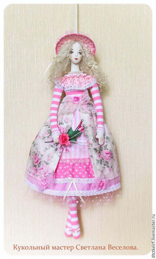 Куклы Тильды ручной работы. Ярмарка Мастеров - ручная работа. Купить кукла тильда НЕЖНОСТЬ. Handmade. Бледно-розовый