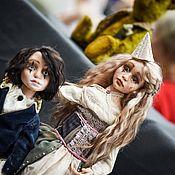 Куклы и игрушки ручной работы. Ярмарка Мастеров - ручная работа Колоун и Коломбина. Handmade.