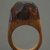 """Украшения ручной работы. Ярмарка Мастеров - ручная работа Деревянное кольцо """"Волшебная  принцесса 30"""", кольцо из дерева. Handmade."""